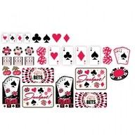 Casino dekorace mix 30ks