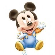 Mickey Baby fóliový balónek 51cm x 84cm
