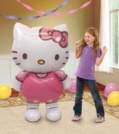 Chodící foliový balonek Hello Kitty 127cm x 76cm
