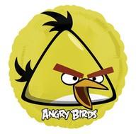Foliový balónek Angry Birds žlutý 45 cm
