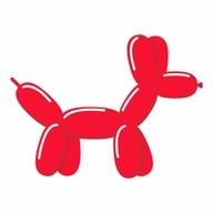 Tvarovací balónky červené