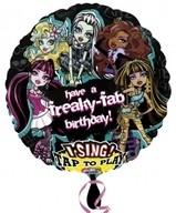 Monster High hrající foliový balónek 71cm