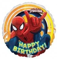 Spiderman foliový balónek narozeniny 45cm