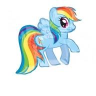 My Little Pony balónek 71cm x 68cm