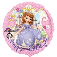 Foliový balónek Sofie narozeniny 45cm