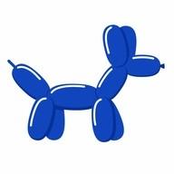 Tvarovací balónek royal blue