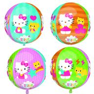 Foliový balónek Hello Kitty kulatý 38x40 cm