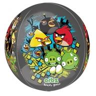 Angry Birds foliový balónek kulatý 38x40cm