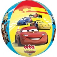 Cars balónek foliový kulatý 38x40cm