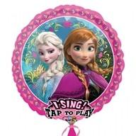 Frozen hrající foliový balónek 71cm