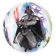Star Wars foliový balónek kulatý 38cm x 40cm