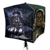 Star Wars foliový balónek kostka 38x38x38 cm