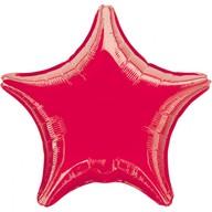 Hvězda červená metalická