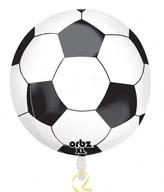 Fotbal foliový balónek kulatý 38cm x 40cm