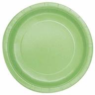 Talíře papírové Apple Green 8ks 18cm