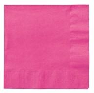 Ubrousky růžové 20ks 2-vrstvé 33cm x 33cm