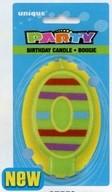 Svíčka na dort číslo 0