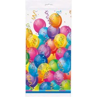 Ubrus balonky party 1,37 m x 2,13 m