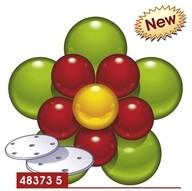 Balónková výzdoba - kytka