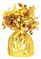Závaží na balónky s heliem zlaté