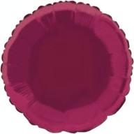 Balónek kruh Burgundy