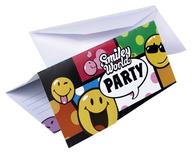 Pozvánky na narozeniny 6ks Smiley