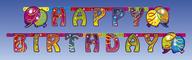 Balon party narozeniny řetěz holografický 1,80 m