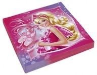 Barbie ubrousky 20ks 33cm x 33cm
