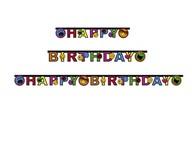 Smiley Express narozeniny nápis 180 x 15cm