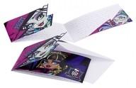 Monster High pozvánky na party 6ks