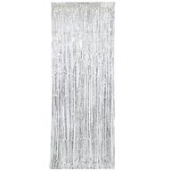 Závěsná dekorace stříbrná 243 cm x 0,91 cm
