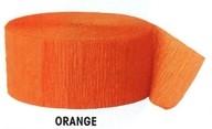 Krepový papír Orange 24,6m x 4,4cm