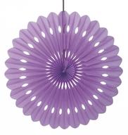 Papírová dekorace fialová 40cm