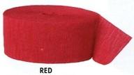 Krepový papír Red 24,6m x 4,4cm