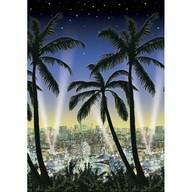 Plakát pro fotokoutek Hollywood City 1,2 m x 12,2 m