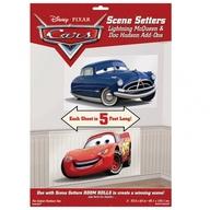 Cars McQueen a Doc Hudson 1,65 x 85cm 2ks