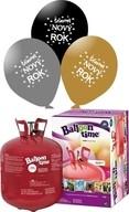 Helium Balloon time, Šťastný NOVÝ ROK mix 25 ks