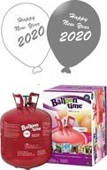 Helium Balloon time 50, Happy New Year balónky Metallic mix 25ks