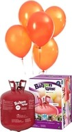 Helium Balloon time sada 50ks balónky Orange