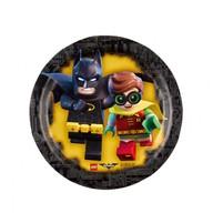 Lego Batman talíře 8ks 18cm