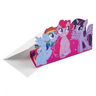 My Little Pony pozvánky na party 8 ks
