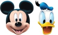 Maska Mickey Mouse 4ks