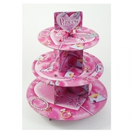 Princess stojan na dort 3ks