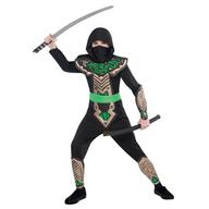 Kostým Dragon Ninja 4–6 roků, 110 cm