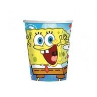SpongeBob kelímky papírové 8ks 266ml