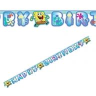 SpongeBob narozeniny nápis 180cm