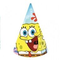SpongeBob čepičky 6ks