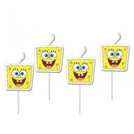 SpongeBob svíčky 4ks