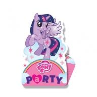 My Little Pony pozvánky na party 8ks