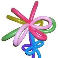 Modelovací balónky průměr 7,7cm 100ks mix barev